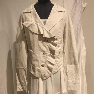 CABI Linen Jacket